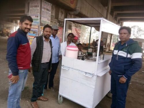 Biriyani Food Mobile Self Sustaining Project in Chandigarh