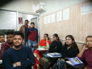 Jayan Shared in Spoken English Class for Youth in Chandigarh