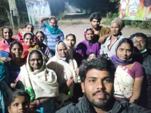 Jayan's Local Church Outreach in Nearby Villages