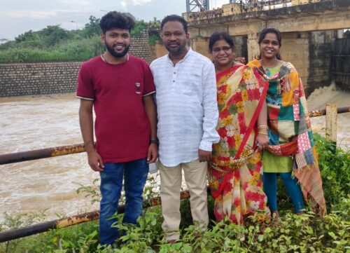 A.S.H.A. Ministry Overseers Jayan and Jyothi Peddoju and Family