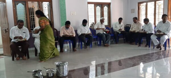 Jayan's Pastors and Leaders Training Food and Fellowship During Pandemic Break