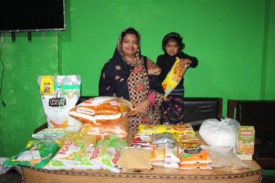 Food Outreach Continued in COVID Affected Areas
